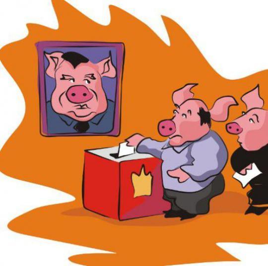 Прикольный картинки с выборов, настроение