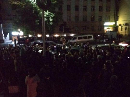 Протестующих в центре Улан-Удэ решили не «винтить»